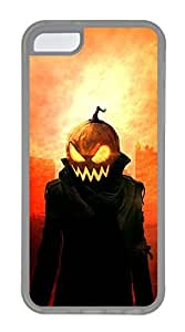 meilz aiaiiPhone 5c Cases - Lovely Mobile Phone Hero City Evening Halloween Pumpkins Rubber Bumper Protecting Shellmeilz aiai