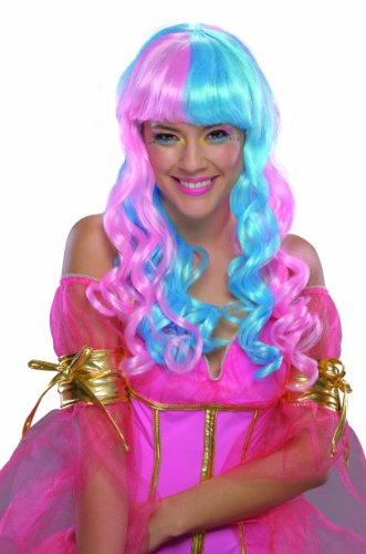 Rubie's Costume Candy Fairy and Wig, Blue/Pink, One Size (Cupcake Fairy Halloween Costume)