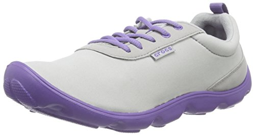 blue Violet Grey Day u Donna Grigio light Da Lace Ginnastica Basse Busy Crocs Duet Scarpe x7qT6H