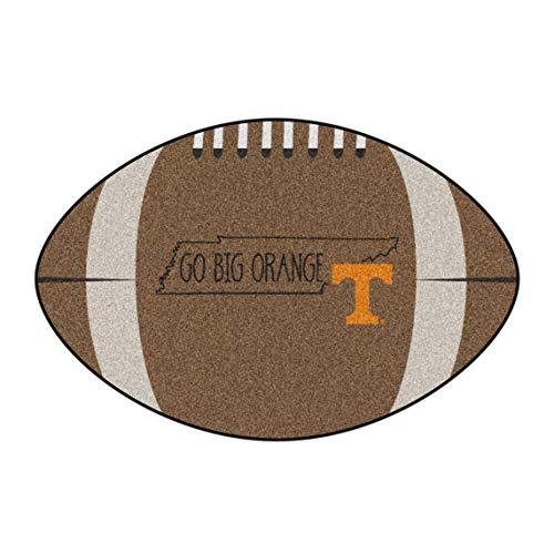 (NCAA University of Tennessee Volunteers Football Shaped Mat Area Rug)