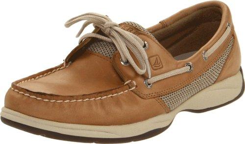 Sperry Top-Sider Intrepid Boat Shoe,Linen/Mesh,8 M US
