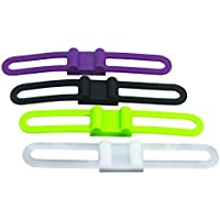 Outdoor Tech OT1302 Buckshot 4P - Speaker Mount Straps Pack of 4 (Multi-Colored)