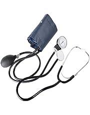 HEALLILY 1 Kit de Braçadeira de Pressão Arterial Manual Estetoscópio Com Braçadeira Aneróide Estetoscópio E Braçadeira de Pressão Arterial Definida para Medir a Pressão Arterial