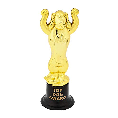 Fun Express - Top Dog Trophies - Stationery - Awards - Trophies & Awards - 12 Pieces]()