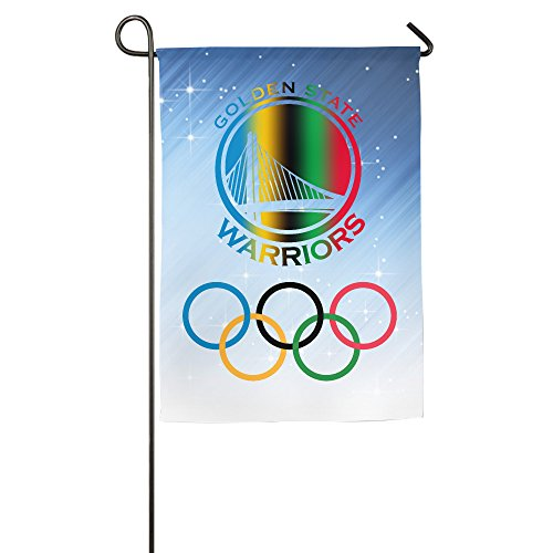 Rio 2016 Olympic Golden State Warriors Garden Flag
