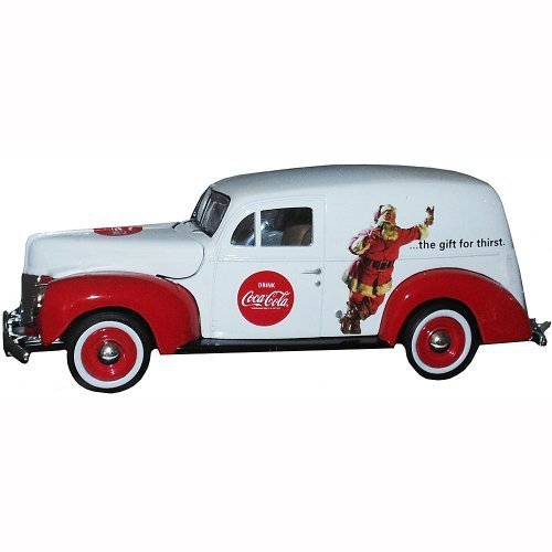 Ford Models Van - Motor City Classics 1940 Ford Delivery Holiday Van (1:24 Scale), White