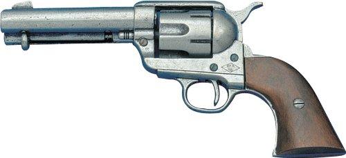 "Denix ""Peacemaker"" 0.45 Replica Gun (Pewter) - Non-Firing Replica"