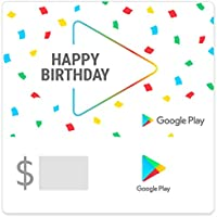 Google Play gift code - give the gift of games, apps and more (Email Delivery - US Only)