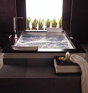 Jacuzzi FUZ7236WRL4CHW Fuzion 7236 Whirlpool Bath Undermount, White