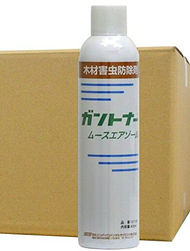 業務用 シロアリ駆除用 ガントナー ムースエアゾール 400ml×6本 木材害虫防除剤 B07DGP5T1K
