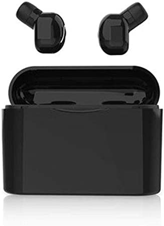 Hihey Auricular Bluetooth en el oído TWS Mini Auricular inalámbrico Bluetooth con Estuche de Carga Estéreo Divertido Auricular Deporte Auricular: Amazon.es: Hogar