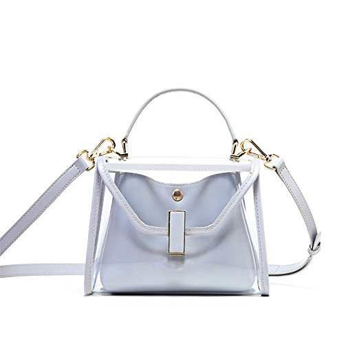 Shoulder Shoulder Bag Transparent Mini Grey Bag Slung Summer Single TzZxq