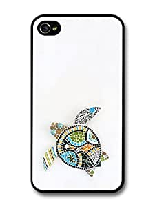 iphone covers Mosaic Turtle in Colourful Fashion Style with Gecko case for Iphone 6 plus WANGJING JINDA