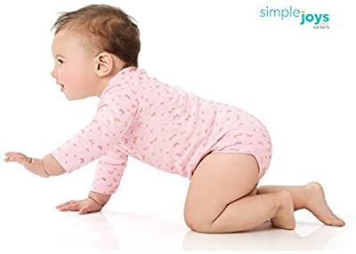 Simple Joys by Carter's Baby Girls' 5-Pack Long-Sleeve Bodysuit by Simple Joys by Carter's that we recomend personally.