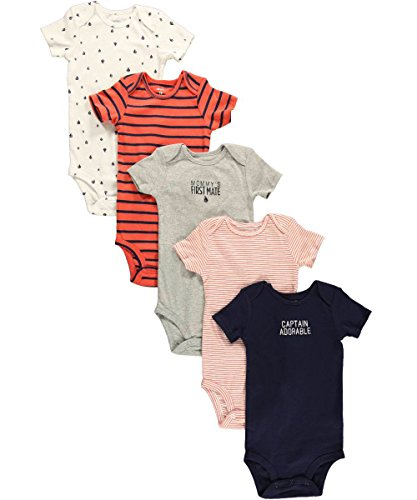 Carter's Baby Boys' 5 Pack Bodysuits (Baby) - Navy