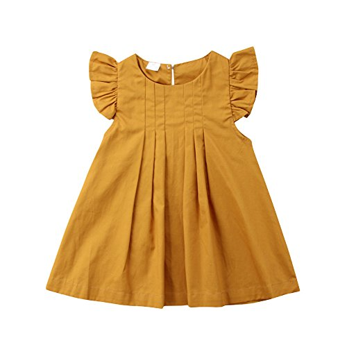 newEmergingstyle Baby Girl Summer Dress Kids Princess Party Tutu Dresses Clothes 0-3 Years (Infant Girls Sundress)