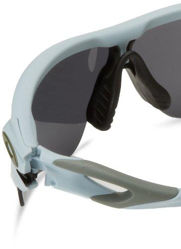 Oakley Herren 0Oo Radarlock Path 918110 38 Sonnenbrille, Blau (Matte Blue Ice Gp/Blackiridium/Clear)