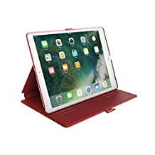 Speck Products BalanceFolio Case and Stand for iPad 9.7-Inch, 9.7-Inch iPad Pro, iPad Air 2/Air, Dark Poppy Red/Velvet Red, 90914-6055