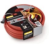 """Parker Hannifin HWR5825 Rubber Cover  HWR Premium Hot Water Hose Assembly, Red, 25' Length, 0.625"""" ID"""