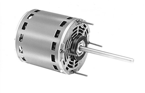 Fasco D701 5.6-Inch Direct Drive Blower Motor, 1/2 HP, 115 Volts, 1075 RPM, 4 Speed, 7.7 Amps, OAO Enclosure, Reversible Rotation, Sleeve Bearing ()