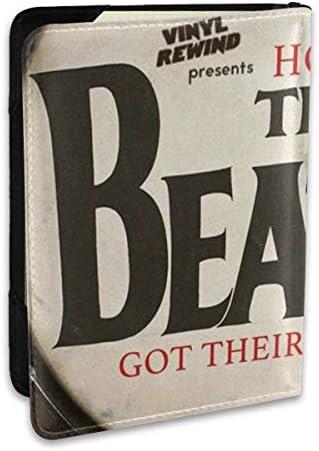 How The Beatles ビートルズ パスポートケース パスポートカバー メンズ レディース パスポートバッグ ポーチ 収納カバー PUレザー 多機能収納ポケット 収納抜群 携帯便利 海外旅行 出張 クレジットカード 大容量