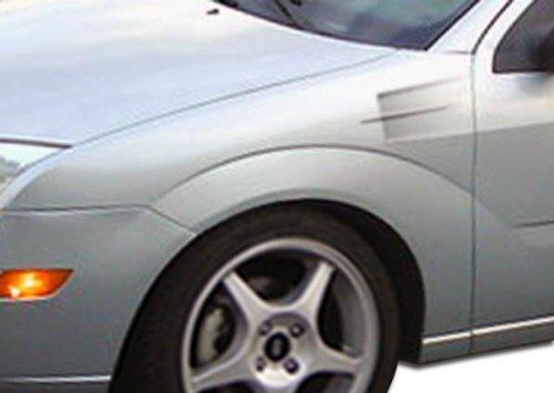 Duraflex X2 Fenders - Duraflex Replacement for 2005-2007 Ford Focus X-2 Fenders - 2 Piece