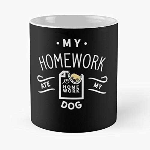 School Student Pupil Dog - Best Gift Coffee Mugs 11 Oz Father Day