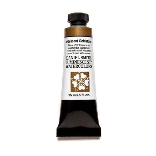 (DANIEL SMITH Extra Fine Watercolor 15ml Paint Tube, Iridescent Goldstone)