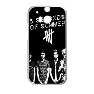 5 SECONDS OF SUMMER Phone Case for HTC One M8 by lolosakes