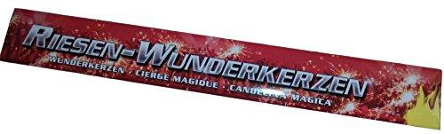 20 XXL Riesen Wunderkerzen Nico Feuerwerk a 45cm ca. je 90 Sekunden Brenndauer