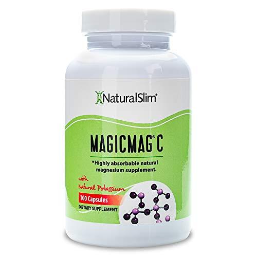 NaturalSlim Anti Stress Magnesium Capsules – Pure Magnesium Citrate Plus Potassium – Natural Aid to a Slow Metabolism…