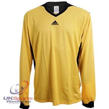 Adidas Tabela II Climalite Manga Larga Camiseta De Fútbol Jersey RRP £25, Color Verde y Blanco: Amazon.es: Deportes y aire libre