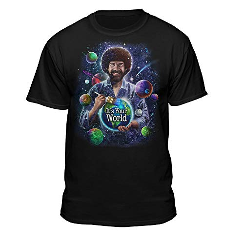 Teelocity Bob Ross - Officially Licensed