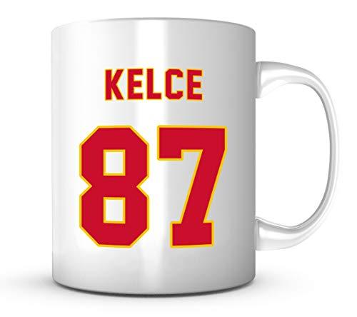 Travis Kelce Mug - Jersey Number Football Coffee Cup