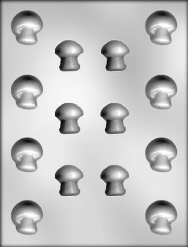 (CK Products 1-1/4-Inch and 1-1/8-Inch Mushrooms Chocolate Mold)