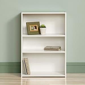 Sauder Small Modern 3 Shelf Bookcase Small