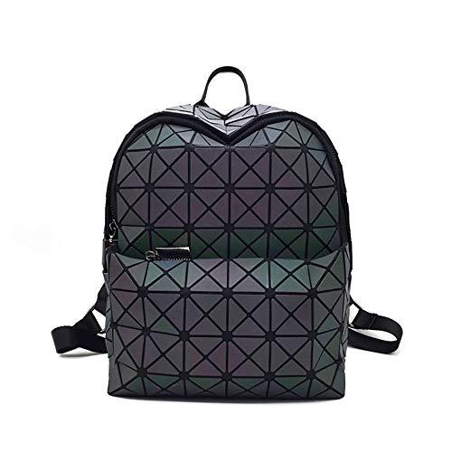 Shan Backpack pour les femmes sac à bandoulière avec motif géométrique