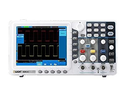 Monoprice Dual-Channel Smart Digital Storage Oscilloscope Ultra-Thin 8in HD LCD