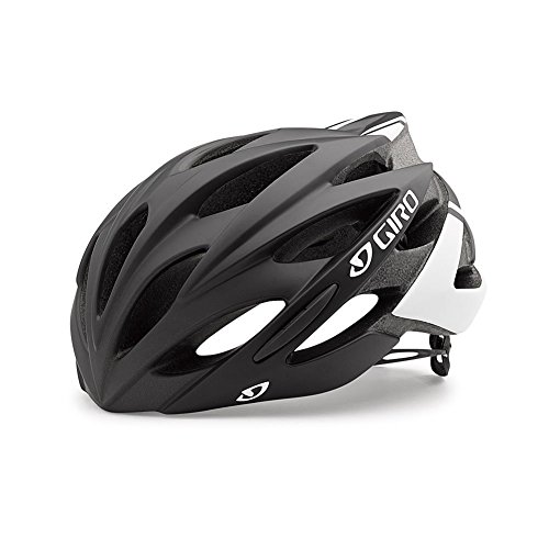 Giro Savant Road Bike Helmet, Matte Black/White, - Returns Hdo Sport