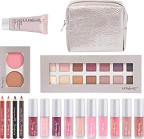 Ulta Beauty Brilliantly Beautiful Makeup Set Palette Travel Bag 19 Piece Set