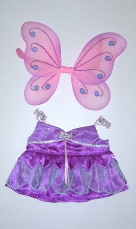 [Fairy Butterfly Costume Outfit Teddy Bear Clothes Fit 14
