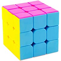 PurpleFly Stickerless Speed Cube (Multicolour)