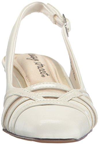 Street Pump Women's Kristen Easy Dress White Patent gRBvvqd