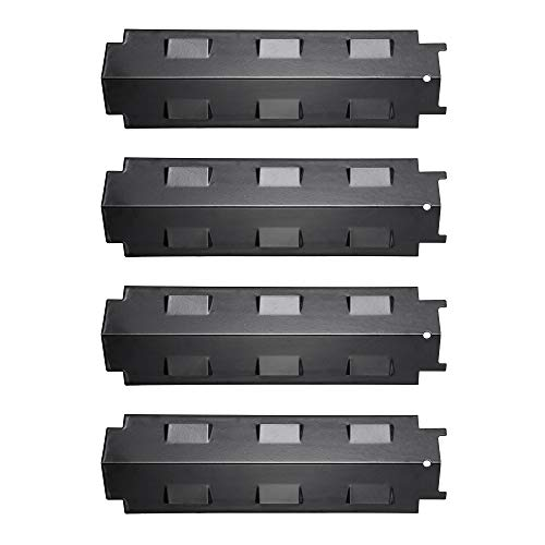 UNICOOK Porcelain Grill Heat Plate 4 Pack, Grill Replacement Parts, 14-5/8