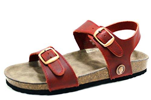 Romika Women's Fashion Sandals Red 9OsI5wGt
