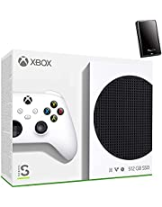 $499 » Microsoft Xbox Series S 512GB Game All-Digital Console + 1 Xbox Wireless Controller, White - 1440p Gaming Resolution, 4K Streaming Media Playback, WiFi, iPuzzle 320GB External HD
