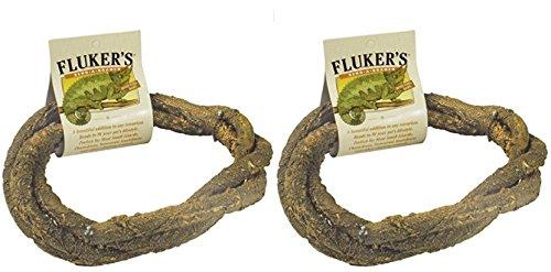 Fluker Labs SFK51019 Small Animal Bend-A-Branch Pet Habitat Decor, Medium (2 Pack) by Fluker Labs (Image #1)