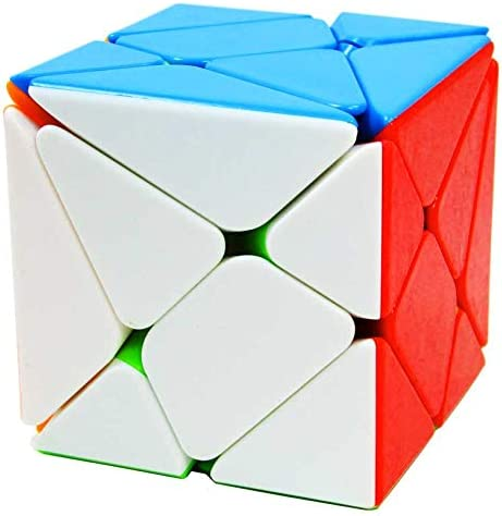 Aasha Jiehui Multicolour Striker-Less Axis Magic Rubiks Cube