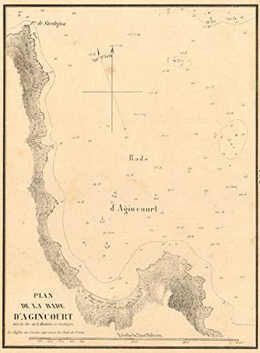 Amazon.com: Agincourt Sound, Port Rafael, Sardinia. 'La Rade ... on italy map, cyprus map, trentino alto adige map, carthage map, tagus river map, crete map, venice map, sicily map, canary islands map, cagliari map, adriatic sea map, serbia map, pompeii map, monaco map, corsica map, balearic islands, iberian peninsula map, constantinople map, pyrenees map, regions of italy, iberian peninsula, ukraine map, elbe river map,