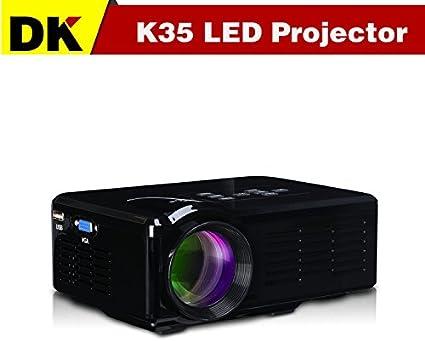 Mini proyector barato LED 800 lúmenes 640x800 Pico proyector ...